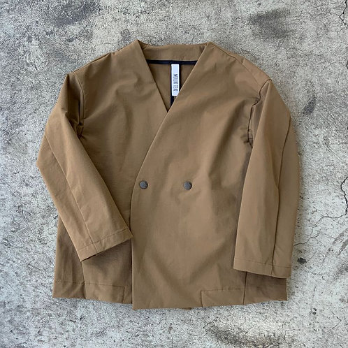 double cloth stretch jacket
