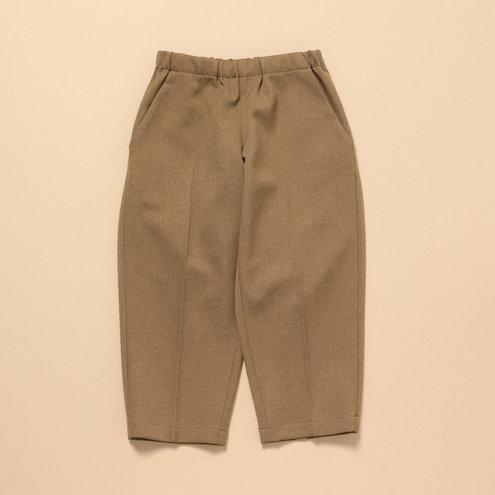 woolish tapered pants