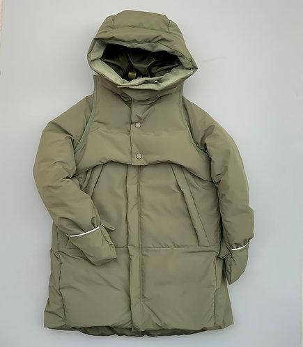 separate down coat