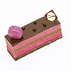 Entremet Cassis - Chocolat
