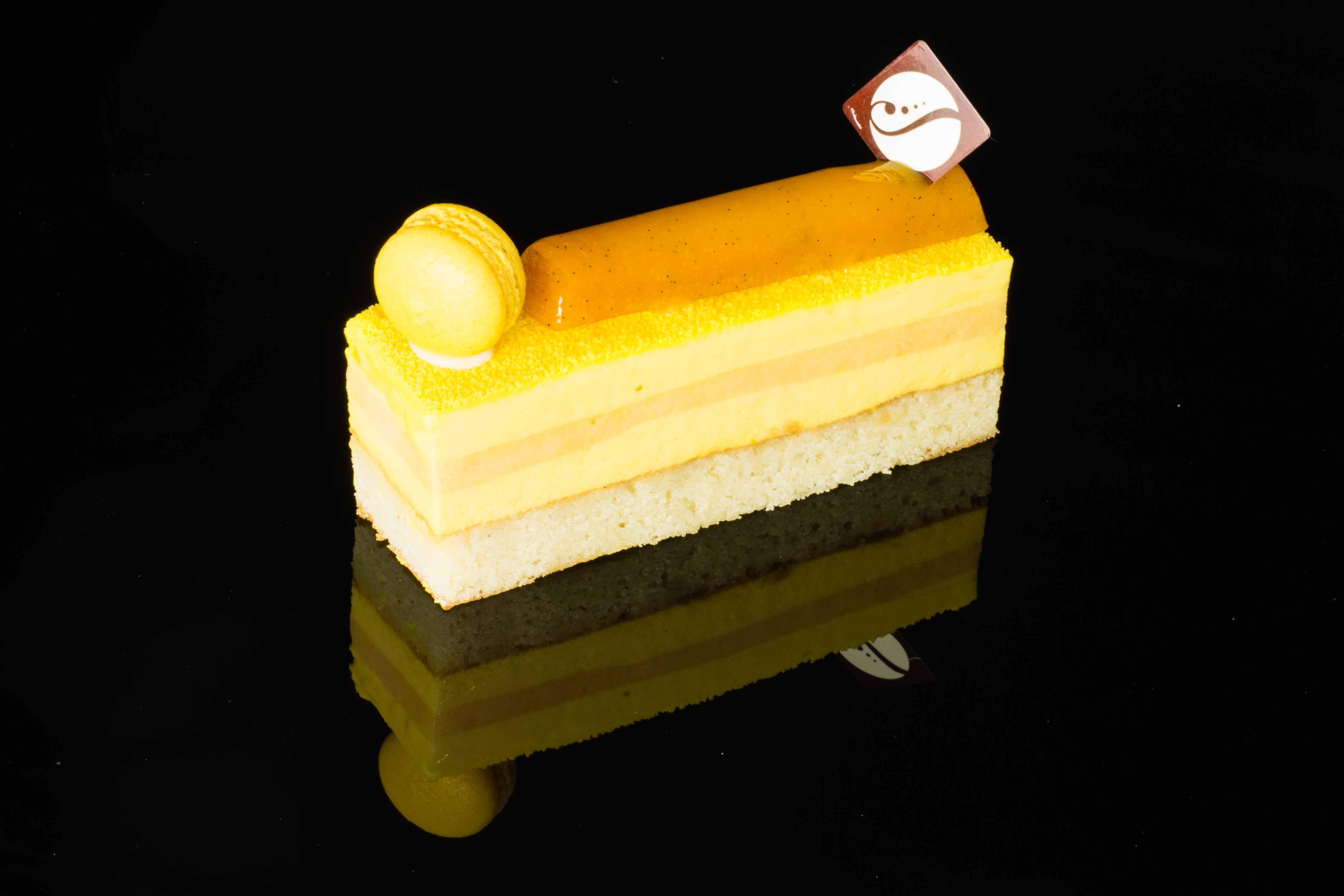 Entremet Mangue Horizontal