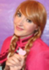 Ice Princess Princess Party Visits Charlotte, NC