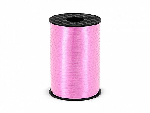 Plastbånd lyserosa 5mm/225m