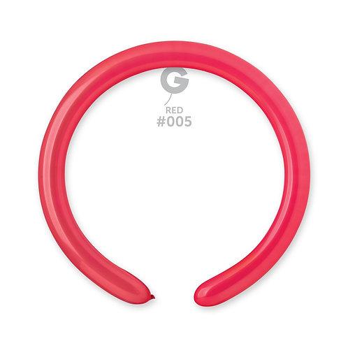 005 Red Ballonger til figurer