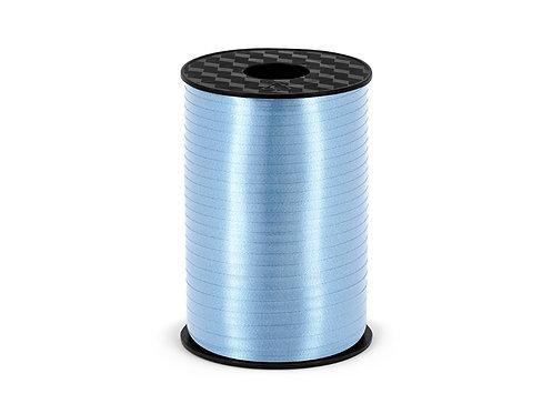 Plastbånd lyseblå 5mm/225m