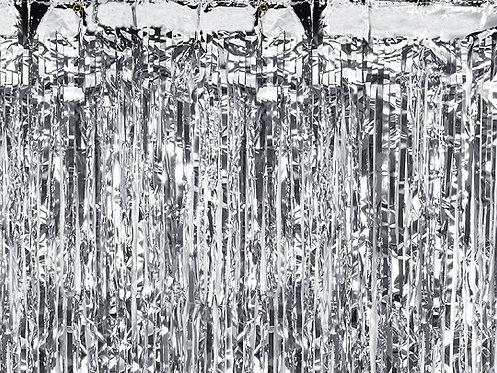 Party Curtain Sølv