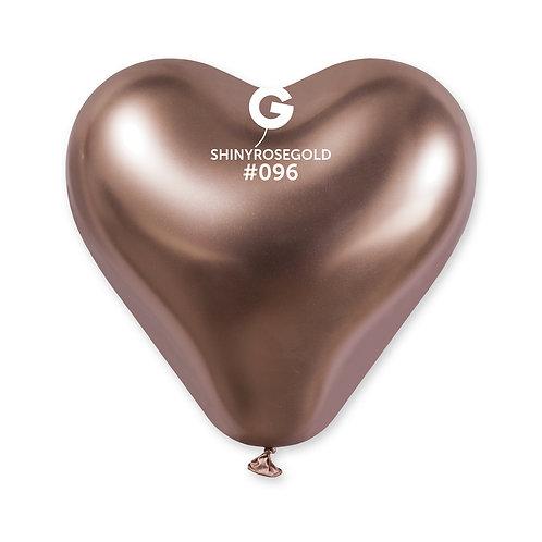 Shiny Heart Rosegold