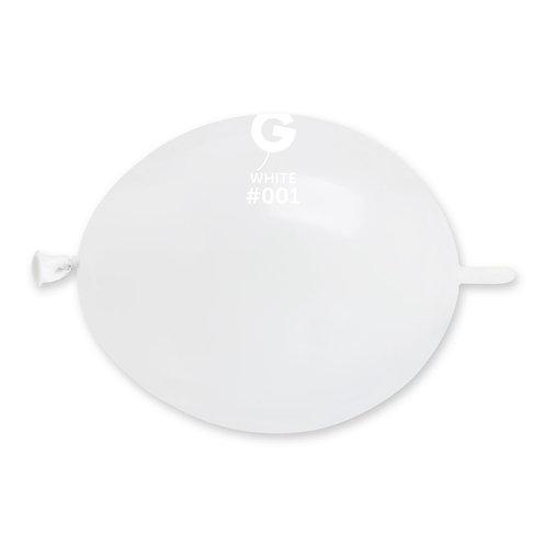 001 White Gemar Link 16cm (100)