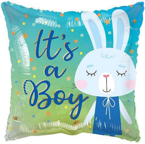 Eco Ballong It's a Boy Rabbit