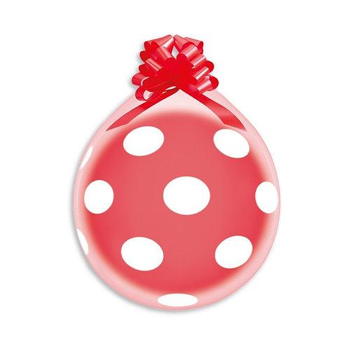 Polka Dots Crystal Gave Ballong