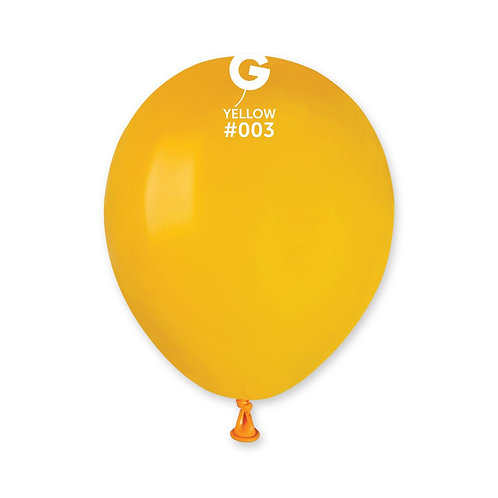003 Yellow 13cm (100)