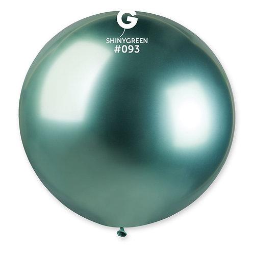 093 Giant Balloon Shiny Green 80cm