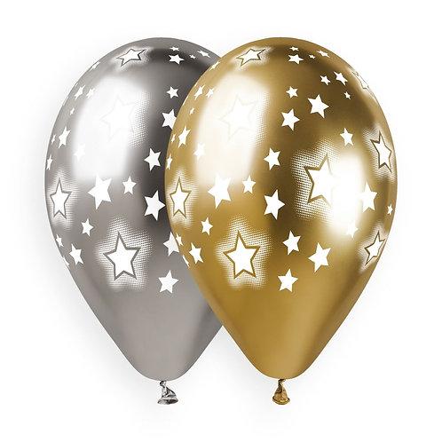 Cosmic Stars Gold & Silver
