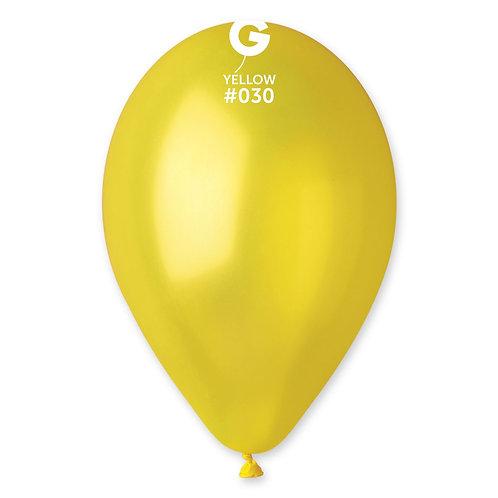 030 Yellow Metallic 30cm (100)
