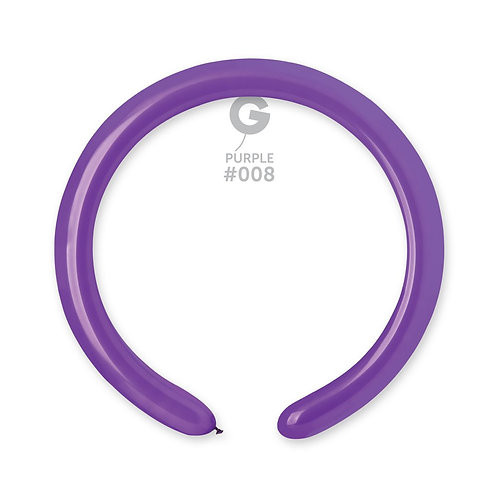 008 Purple Ballonger til Figurer