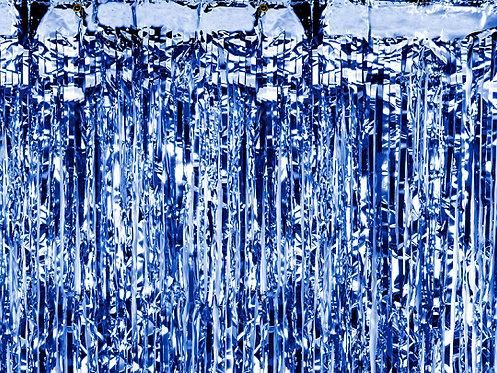Party Curtain Blå
