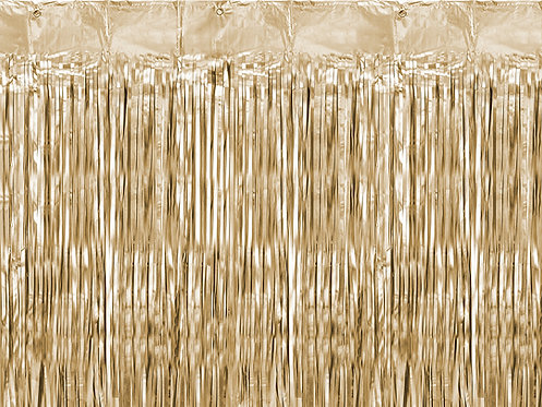 Party Curtain Rose Gull