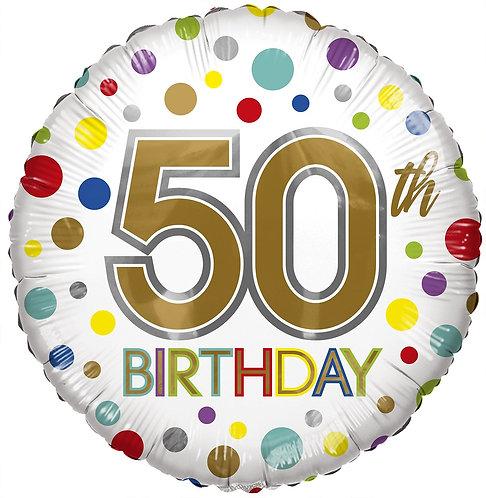 Eco Ballong Birthday Age 50