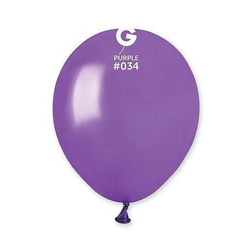 034 Purple Metallic 13cm (100)