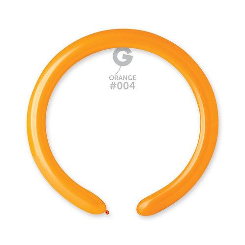 004 Orange Ballonger til figurer