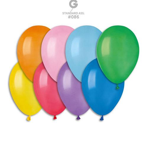 Mix lateksballonger 21cm