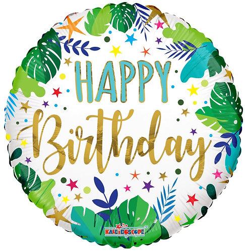 Eco Ballong Birthday Jungle