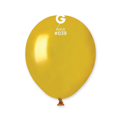 039 Gold Metallic 13cm (100)