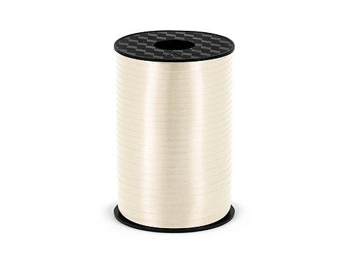 Plastbånd krem 5mm/225m