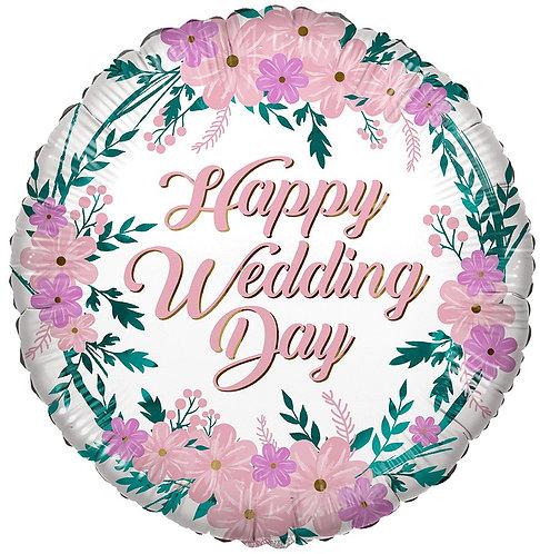 Eco Ballong Happy Wedding Day