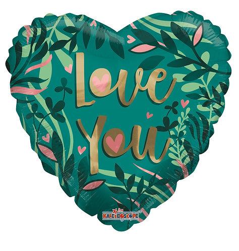 Eco Ballong Love Green