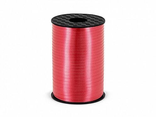 Plastbånd rød 5mm/225m