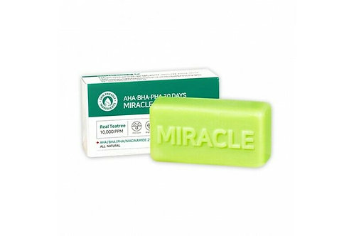 SOME BY MI AHA-BHA-PHA 30 DAYS MIRACLE CLEANSING BAR 96g