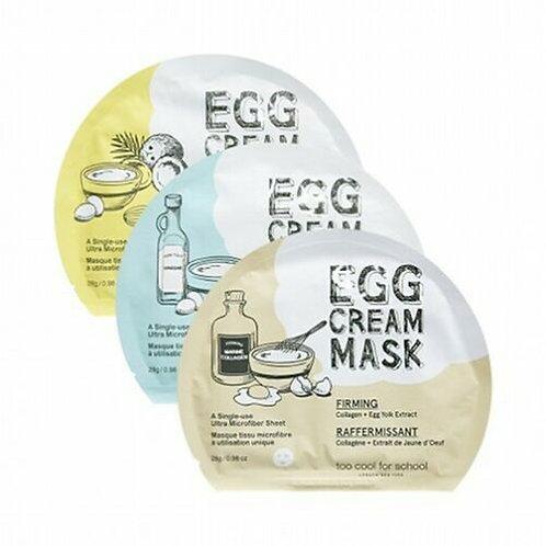 TOO COOL FOR SCHOOL Egg Cream Mask 28g