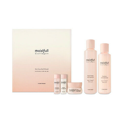 ETUDE HOUSE Moistfull Collagen Skin Care Set (5 items)