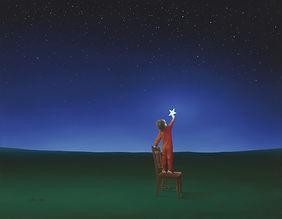 stars, infinity, child, little boy