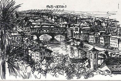 Ponte-Vecchio-Florence, Artist: Denice Da Cassidy