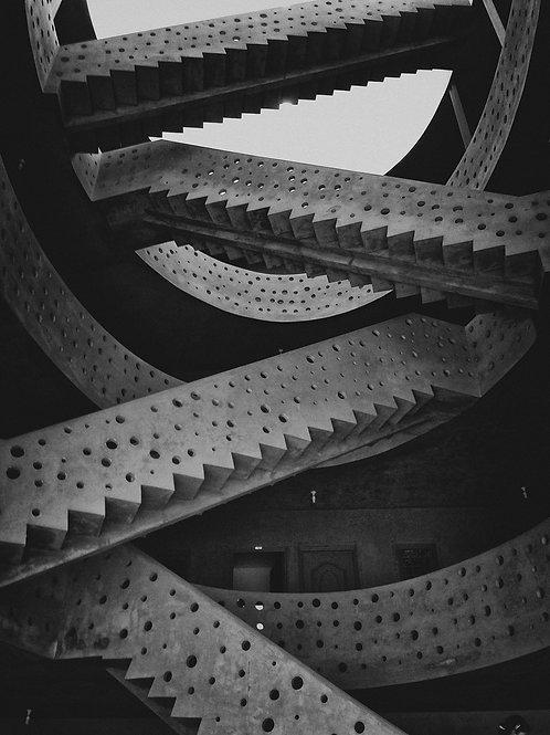 Stair Stillness, Artist: Nipun