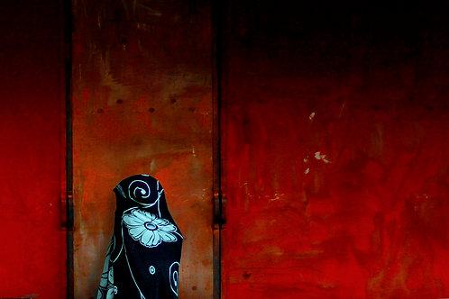 Saree Stillness, Artist: Nipun