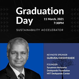 Manush Labs Graduation Day - Sustainability Accelerator 2020