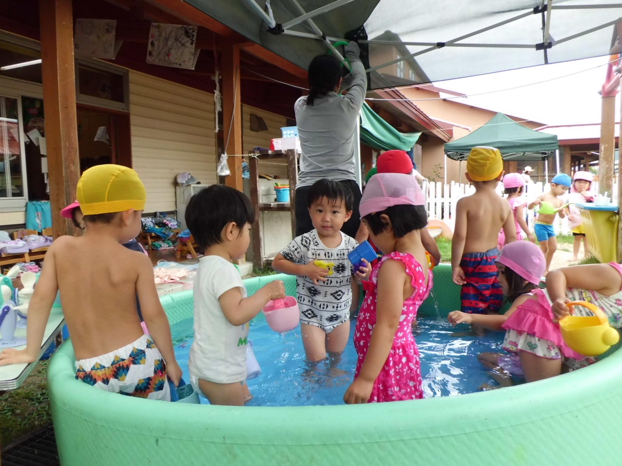 ティンクルーム2021・7月6日(火)水遊び①