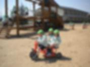 園庭での遊び.JPG