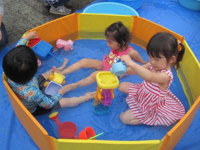 ティンクルーム2021 8月31日(火)水遊び