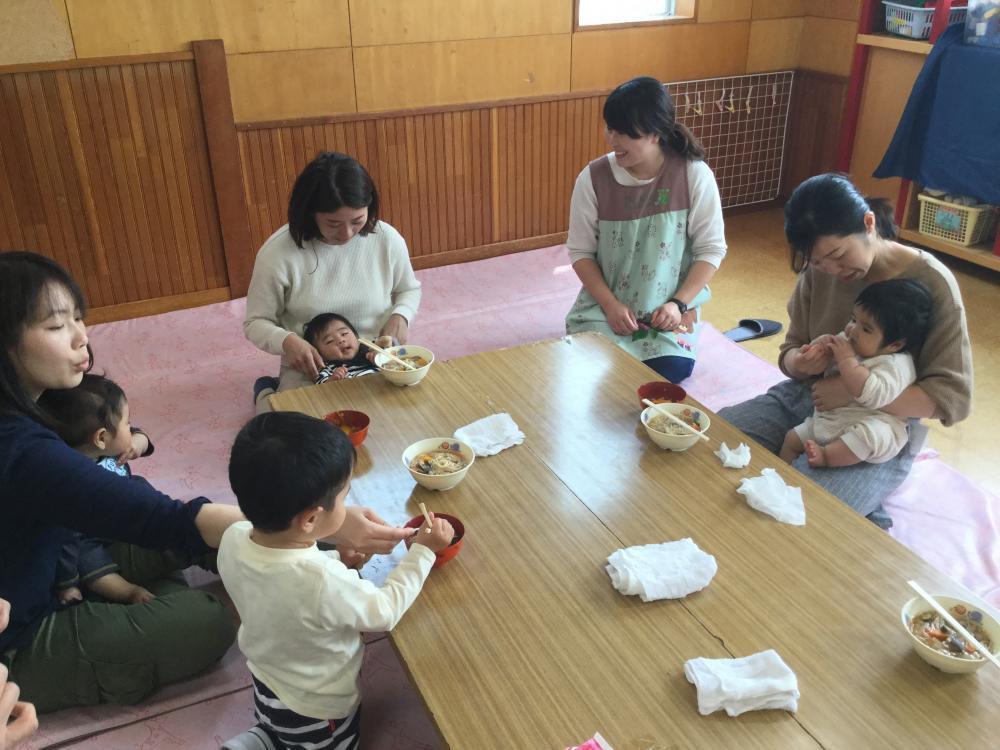 ティンクルーム6月15日(火)離乳食講座①