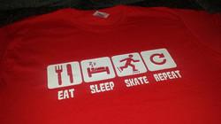 Eat Sleep Skate Tshirt