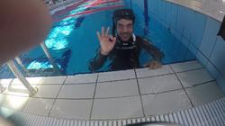 Duarte em sessão de piscina - AIDA3