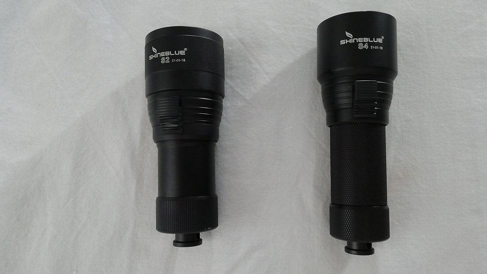 Lanterna LED Shineblue S4 Recarregável