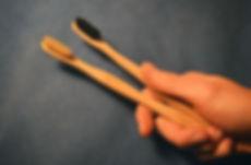 Bamboo tothbrush, zero waste, plastic free
