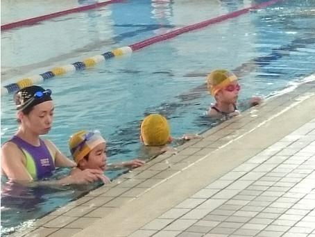 水泳・市が尾教室 水慣れコース募集中