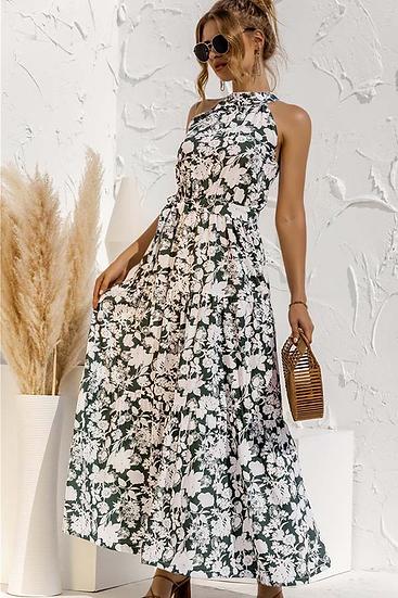 Sarai Halter Maxi Dress