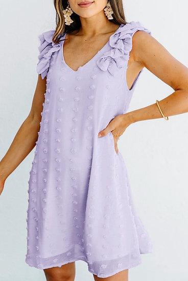 Kelli-Ann Swiss Dot Dress